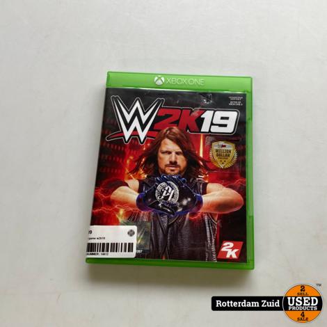 xbox one game w2k19