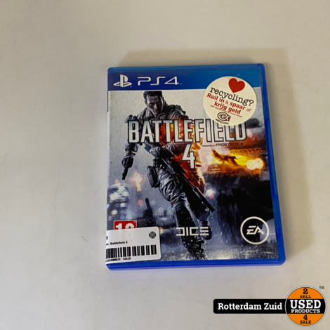 PS4 Game: Battlefield 4