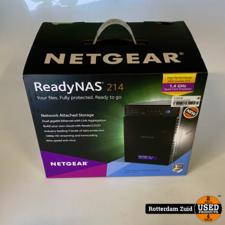 NETGEAR RN21400-100NES ReadyNAS 214 NAS-systeem || Nieuw in doos ||