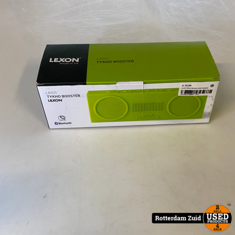La101 Tykho Booster Lexon Speaker IInieuwIImet garantie