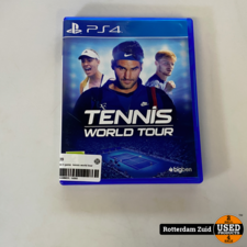 playstation 4 game  tennis world tour