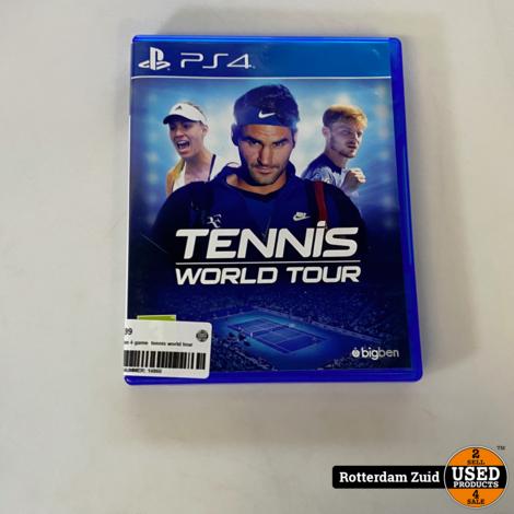 PS4 game | Tennis world tour