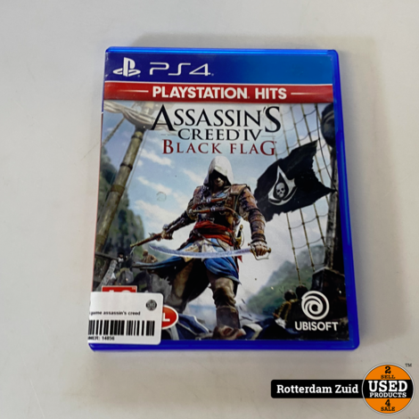 PS4 game | Assassin's creed iv black flag