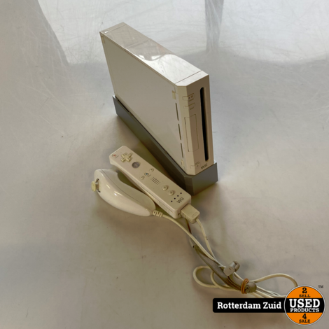 Nintendo Wii Compleet    Met Garantie    In Nette Staat   