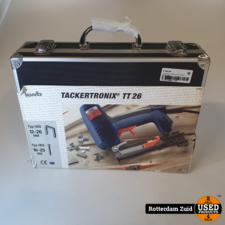 tackertronix TT26 nieuw in koffer II met garantie