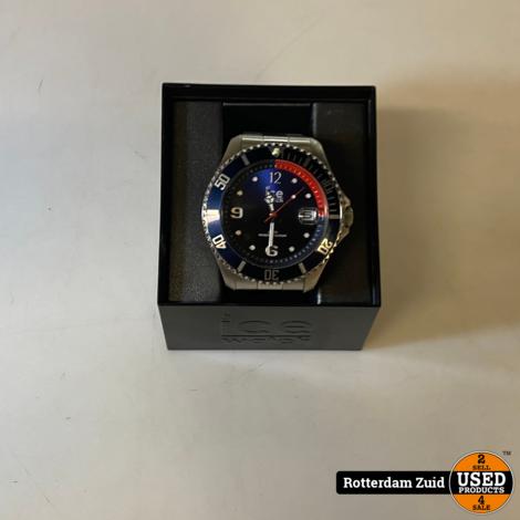 ICE WATCH 017324 horloge - ICE Steel II in nette staat II met garantie