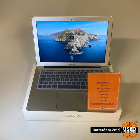MacBook Air 2017 | 13 | 8GB | 128GB || In nieuwstaat met garantie ||