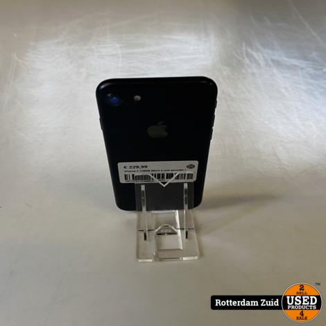 iPhone 7 128GB Black || met garantie I