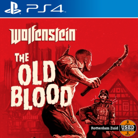 PS4 Game: Wolfenstein the old blood II met garantie II nette staat II