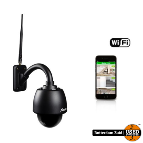 Beveiligingscamera ALECTO DVC-255IP Beweegbare Wifi Camera Outdoor
