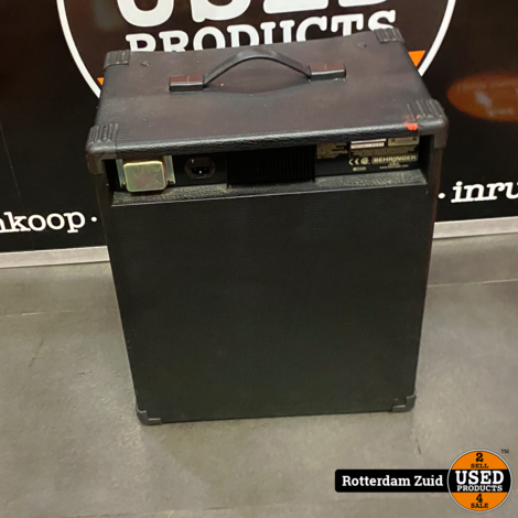 Behringer Ultrabass BX600 Versterker || Met Garantie || In Nette Staat ||