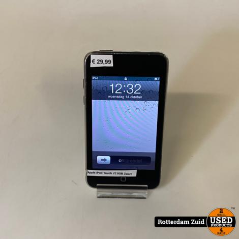 Apple iPod Touch 2e gen 8GB Zwart || Met garantie ||