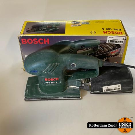 Bosch PSS 180 A Schuurmachine || met garantie
