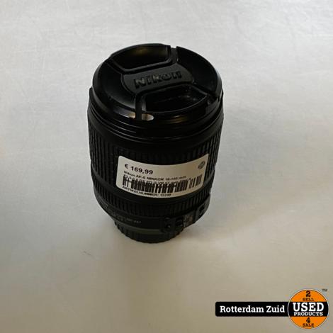 Nikon AF-S NIKKOR 18-105 mm F3.5-5.6 DX ED G VR 67 mm filter II Nette staat II Met garantie II