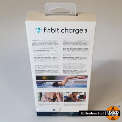 Fitbit charg 3 Black II Nieuw in doos II Met garantie II