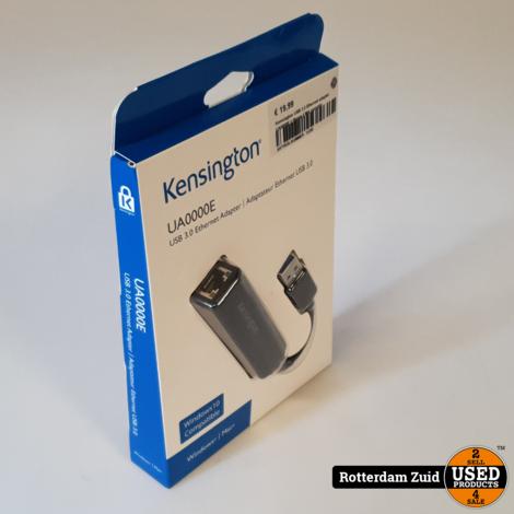 Kensington USB 3.0 Ethernet adapter UA0000E || Nieuw || Met garantie
