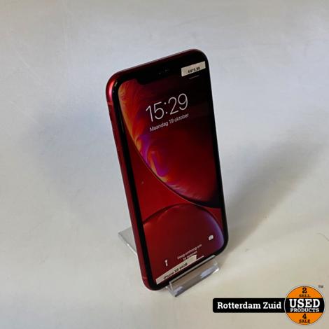 iPhone XR 64GB Rood || in nette staat met garantie ||
