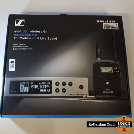 Sennheiser EW 100 G4-Ci 1-B set || ZGAN compleet in doos || met garantie