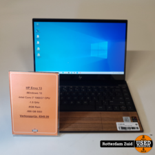 hp HP ENVY 13-aq1220nd  i7-10th    512GB    8GB    Met garantie