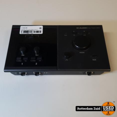 M-Audio Fast Track C400 in doos II Nette staat II Met garantie II