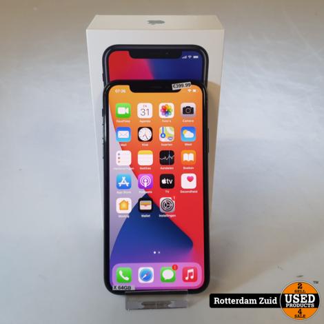 iPhone X 64 GB Space Grey II Nette staat II Met garantie II