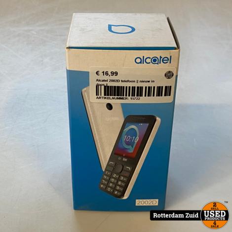 Alcatel 2002D telefoon || nieuw in doos ||