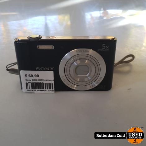 Sony DSC-W800 camera II Nette staat II Met garantie II