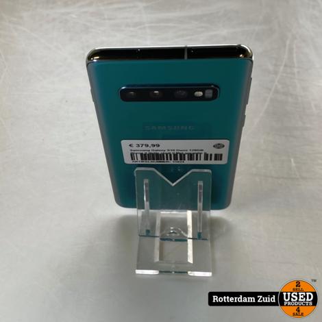 Samsung Galaxy S10 Duos 128GB Blauw II Nette staat II Met garantie II