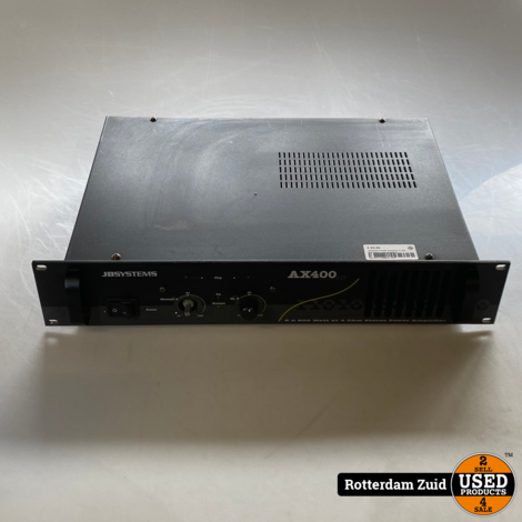 JBsystems AX400 versterker 2x 200 watt 4ohm || met garantie||