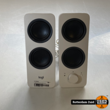 Logitech Z207 Wit met Bluetooth || nette staat || met garantie
