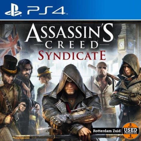Ps4 Game: Assassins's Creed Syndicate    In Nette Staat       Met Garantie   