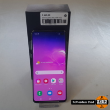 Samsung Galaxy S10 512GB Prism Black II Nette staat II Met garantie II