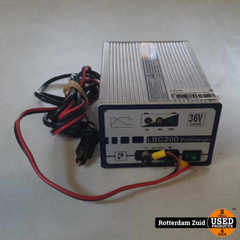 LBC200 profcharger Auto accu lader II Nette staat II Met garantie