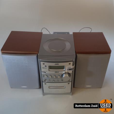 JVC CD en Kassette speler met boxen II Nette Staat II Met garantie II