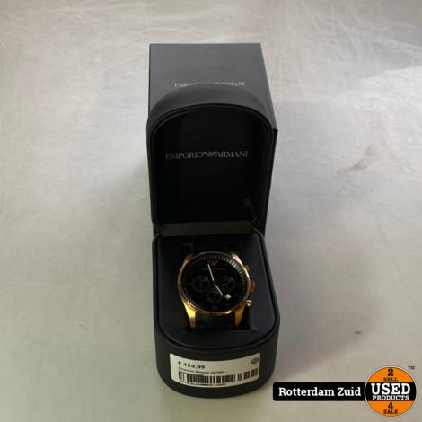 Emporio Armani AR5905 - herenhorloge II nieuw II met garantie