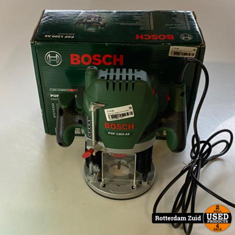 Bosch POF 1200AE In Doos || In Nette Staat || Met Garantie ||