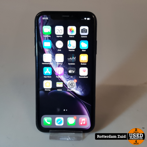 iPhone XR 64GB Space Grey II Nette staat II Met garantie II Geen Face ID