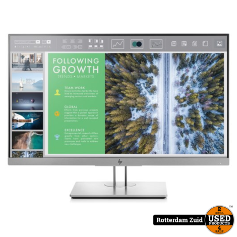 HP EliteDisplay E243 Monitor || Nieuw in doos ||