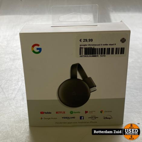 google Chromecast II nette staat II Met garantie II