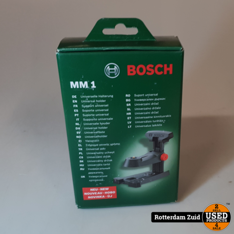 Bosch multi-mount statief voor kruis- en lijnlasers MM1 || Nieuw
