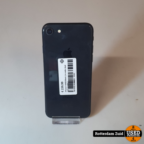 iPhone 8 64GB Black || in nette staat met garantie ||