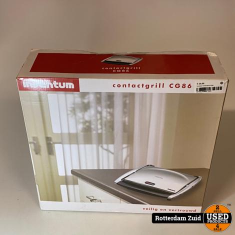 Inventum Contactgrill CG86 II met garantie