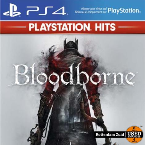 playstation 4 game Bloodborne