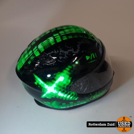 Shoei XR-1100 motorhelm Groen    Maat L    Nette staat