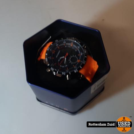 Patterson horloge oranje II Nieuw II