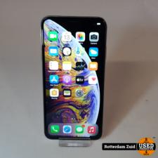 iPhone XS Max 64GB Zilver || in nette staat met garantie ||