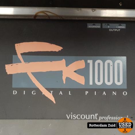 Visscount FK 1000 Digitale Piano || in flightcase || met garantie