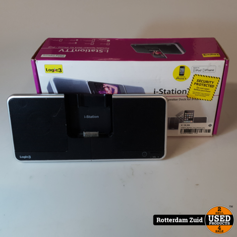 Istation Speaker voor Iphone 4 en Ipod II Nette staat II Met garantie II