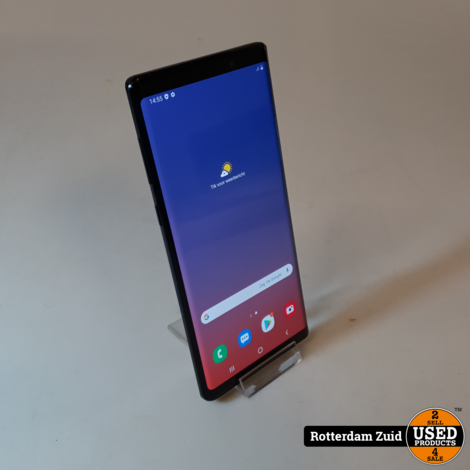 Samsung Galaxy Note 9 128GB Black || in prima staat met garantie ||