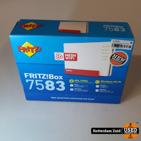 Fritz!box 7583 Nieuw in doos II Nette staat II Met garantie II